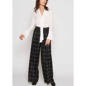 Joie Analina B Printed Wide Leg Pants